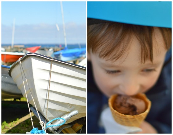 Boats and ice cream